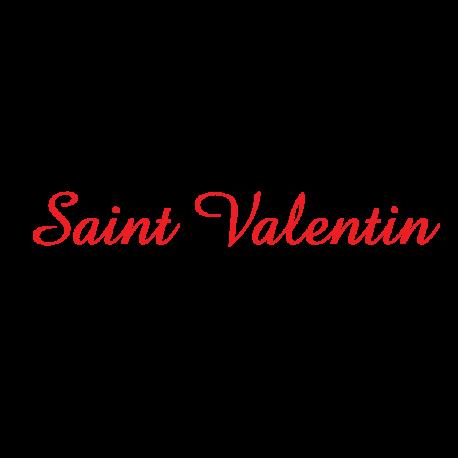 Lettrage Saint Valentin - impressions du languedoc Narbonne