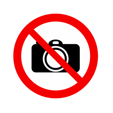 Interdit appareil photo
