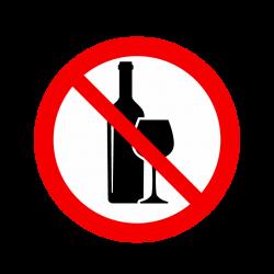 Interdit aux Bouteilles et verres