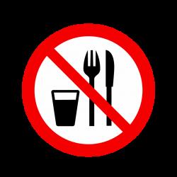 Interdit de manger