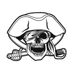 pirate drapeau