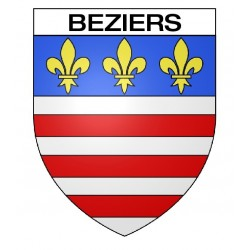 Écusson blason Béziers