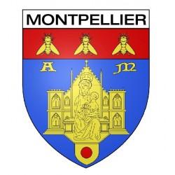 Écusson blason Montpellier
