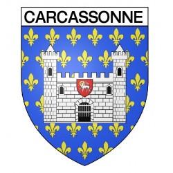 Écusson blason Carcassonne