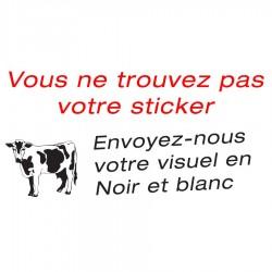 Votre sticker personnalisé